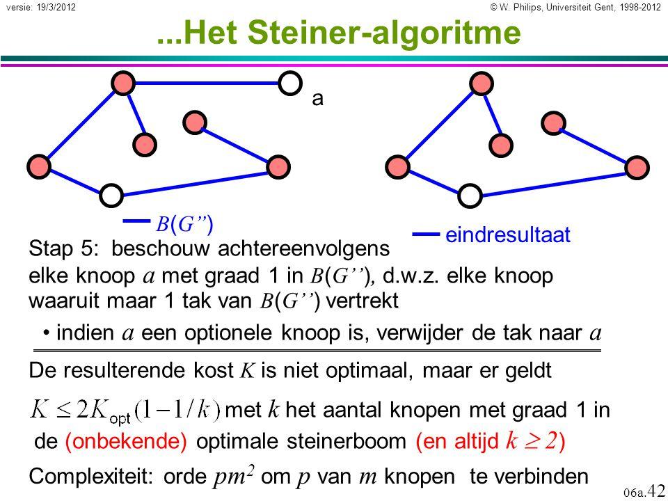 ...Het Steiner-algoritme