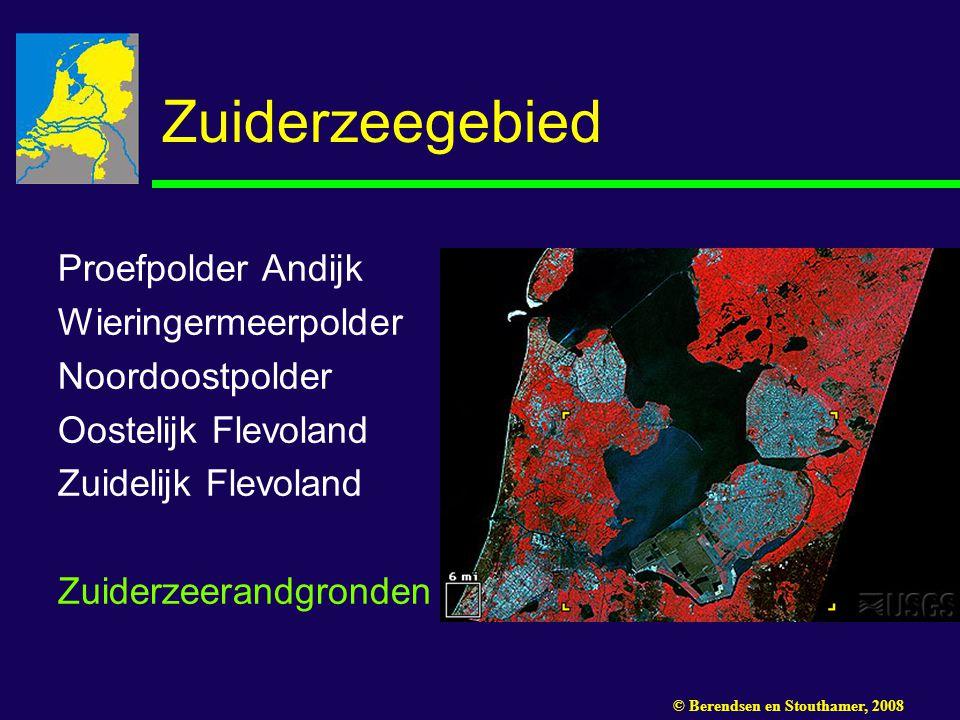 Zuiderzeegebied Proefpolder Andijk Wieringermeerpolder Noordoostpolder