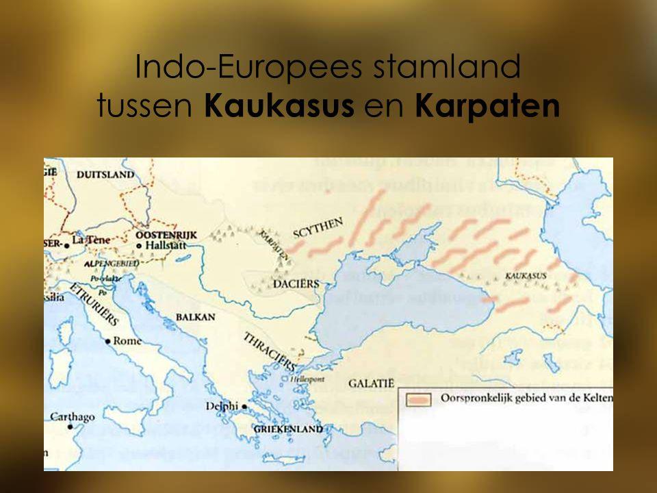 Indo-Europees stamland tussen Kaukasus en Karpaten