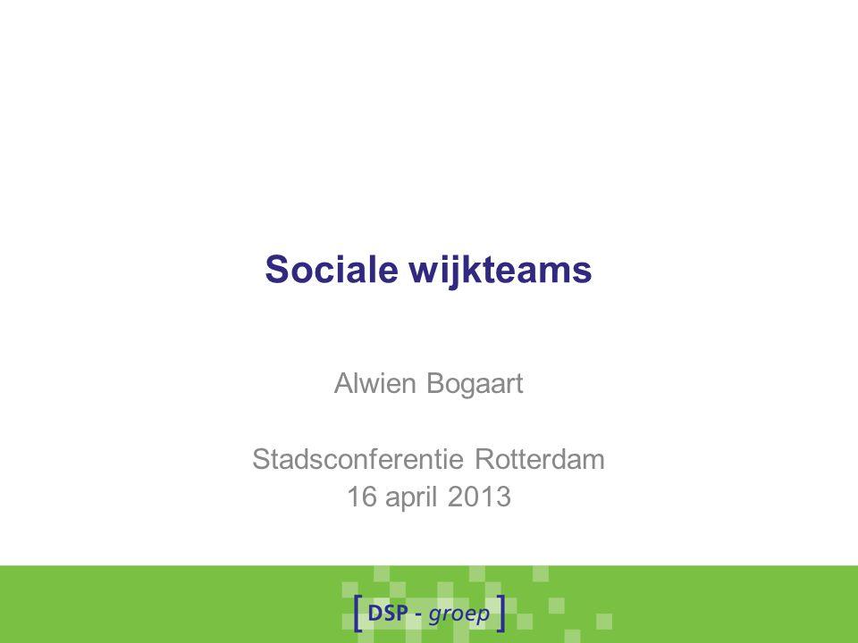 Alwien Bogaart Stadsconferentie Rotterdam 16 april 2013