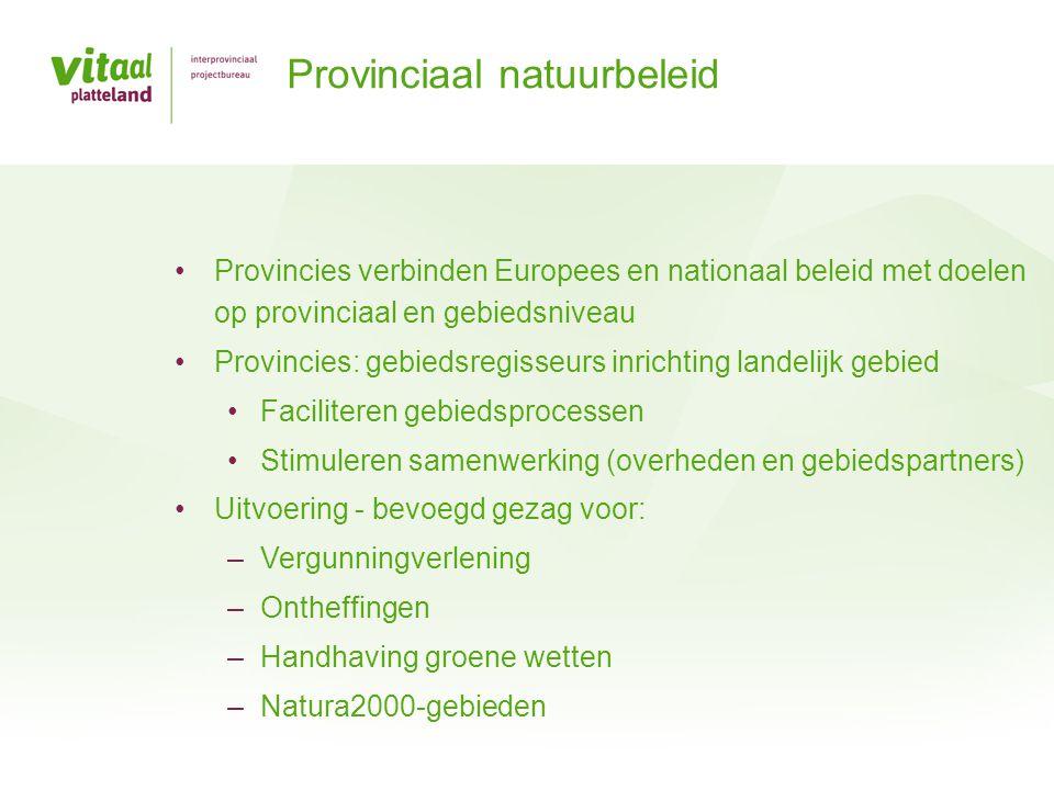 Provinciaal natuurbeleid