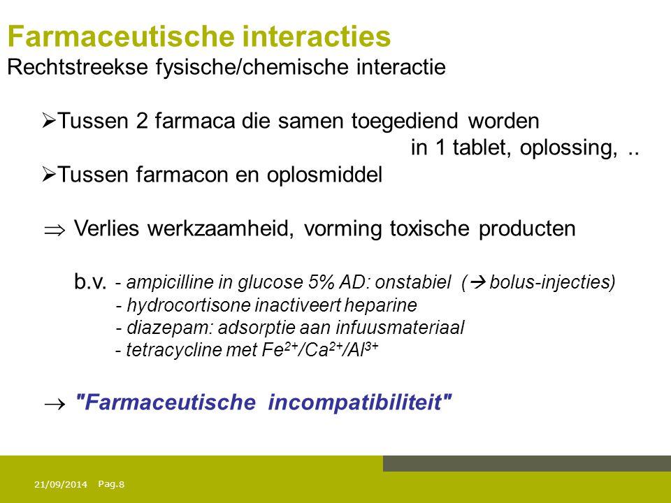 Farmaceutische interacties