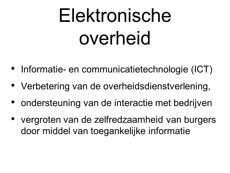 Elektronische overheid
