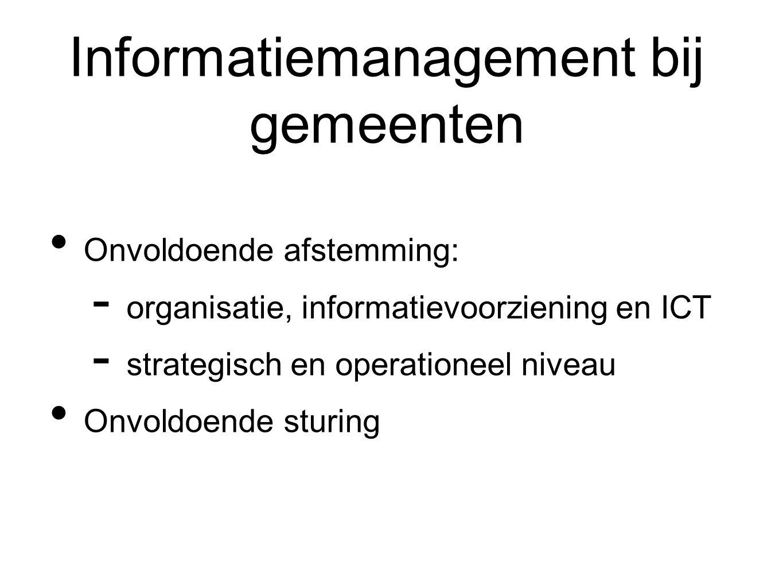 Informatiemanagement bij gemeenten