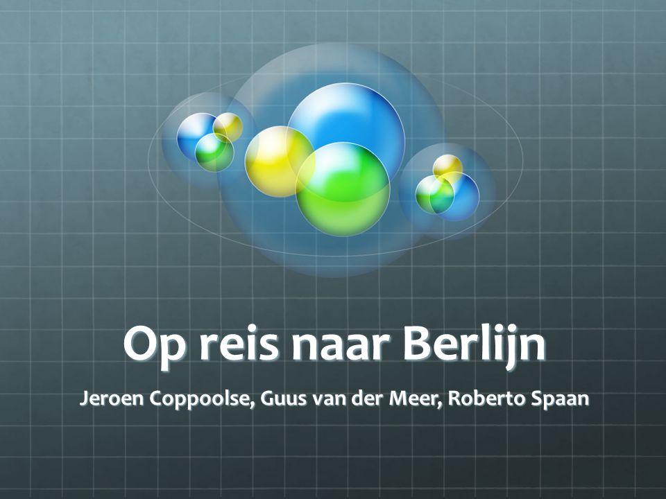 Jeroen Coppoolse, Guus van der Meer, Roberto Spaan