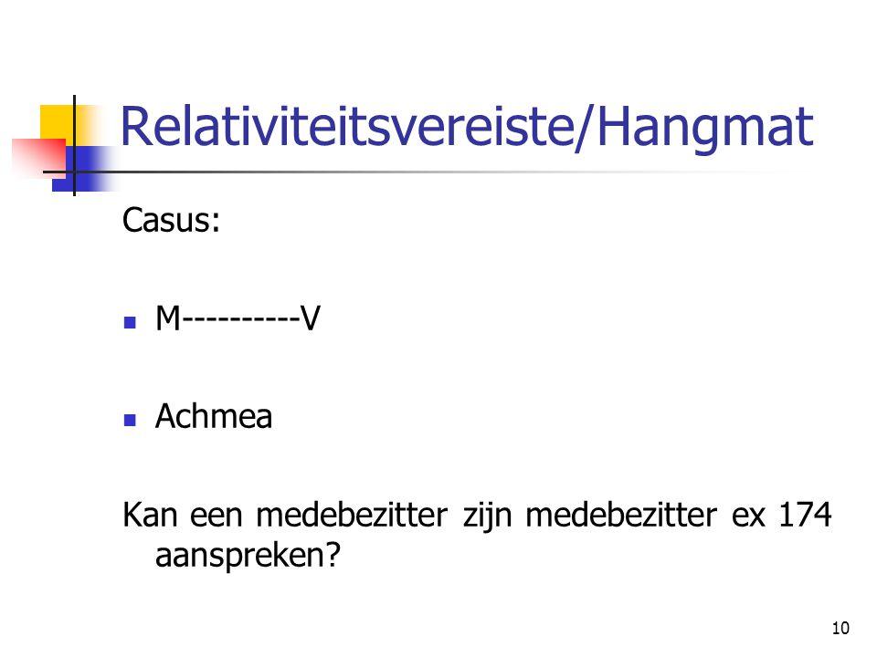 Relativiteitsvereiste/Hangmat