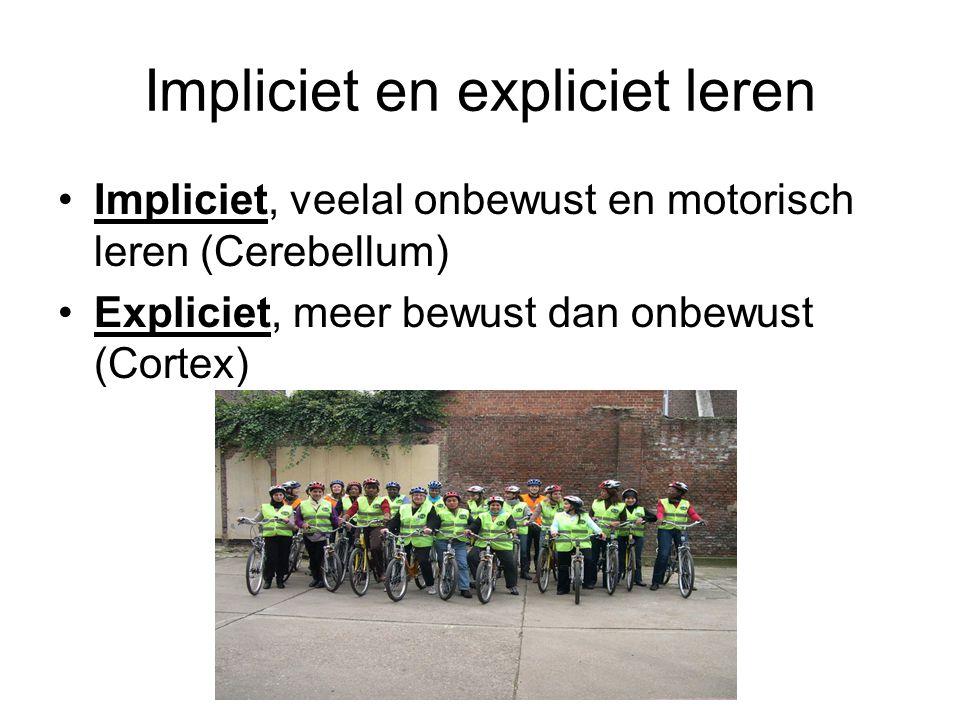 Impliciet en expliciet leren