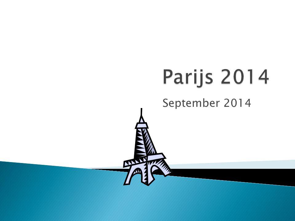 Parijs 2014 September 2014