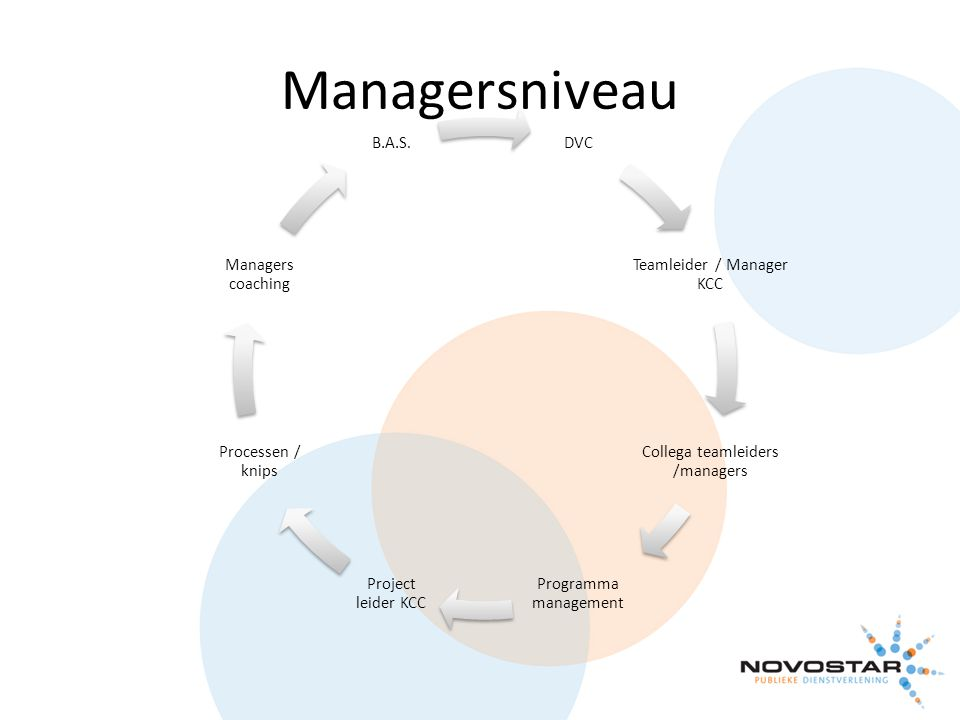 Managersniveau DVC Teamleider / Manager KCC