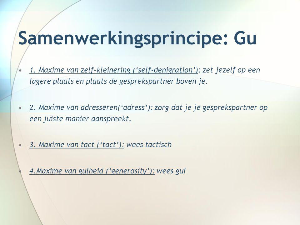 Samenwerkingsprincipe: Gu