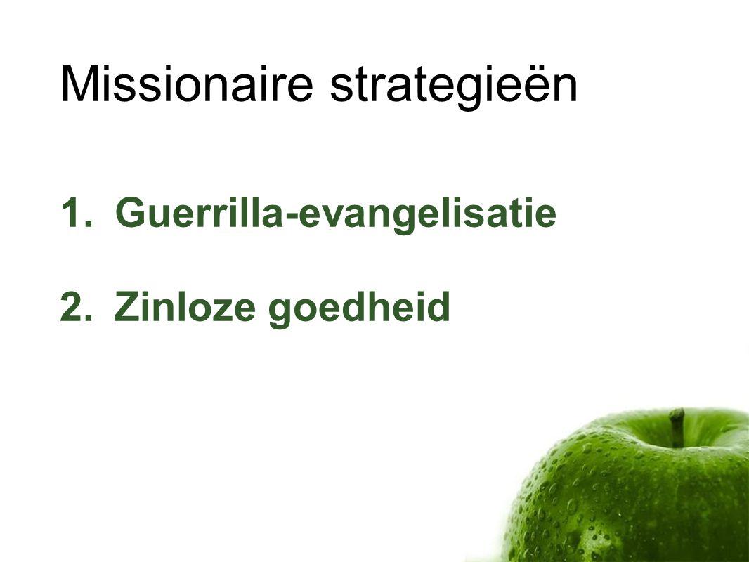Missionaire strategieën