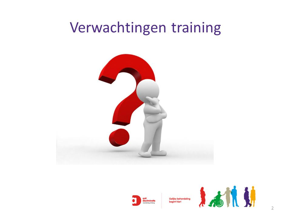 Verwachtingen training