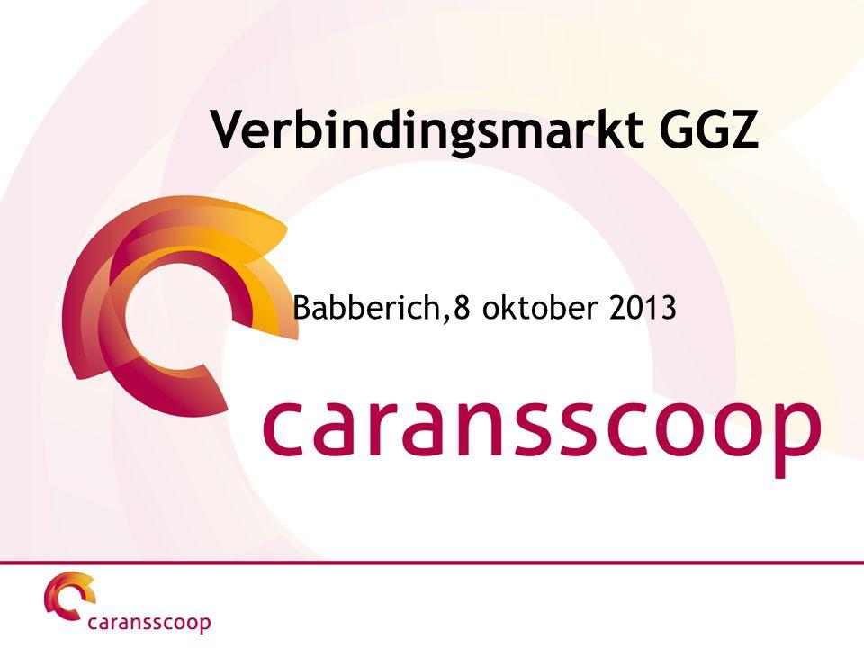 Verbindingsmarkt GGZ Babberich,8 oktober 2013