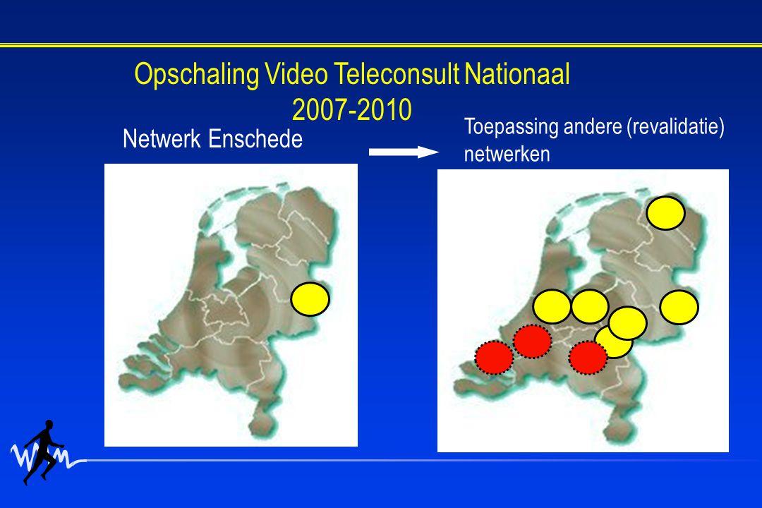 Opschaling Video Teleconsult Nationaal 2007-2010
