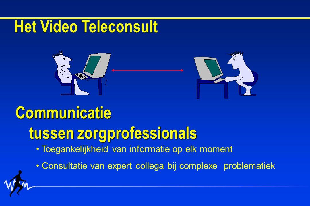 Communicatie tussen zorgprofessionals