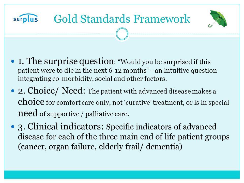 Gold Standards Framework