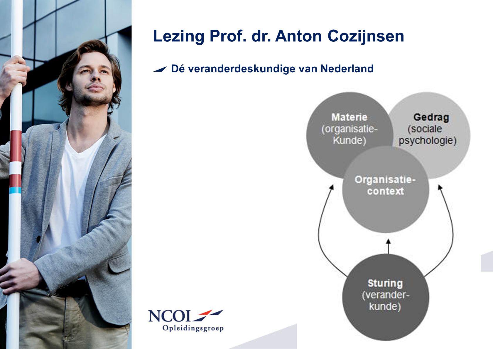 Lezing Prof. dr. Anton Cozijnsen