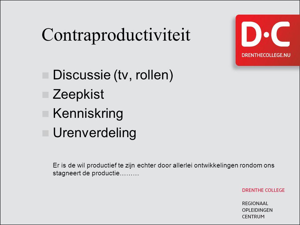 Contraproductiviteit