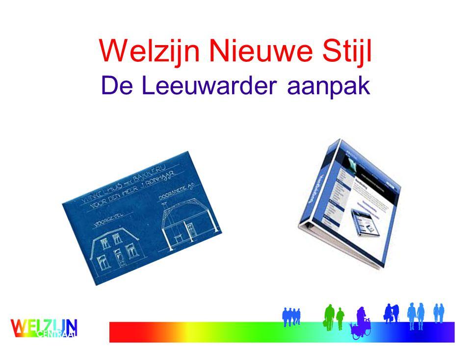 Welzijn Nieuwe Stijl De Leeuwarder aanpak