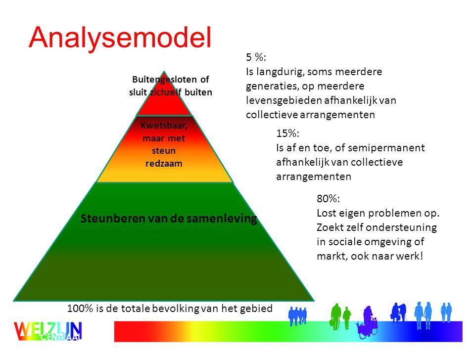 Analysemodel Steunberen van de samenleving 5 %: