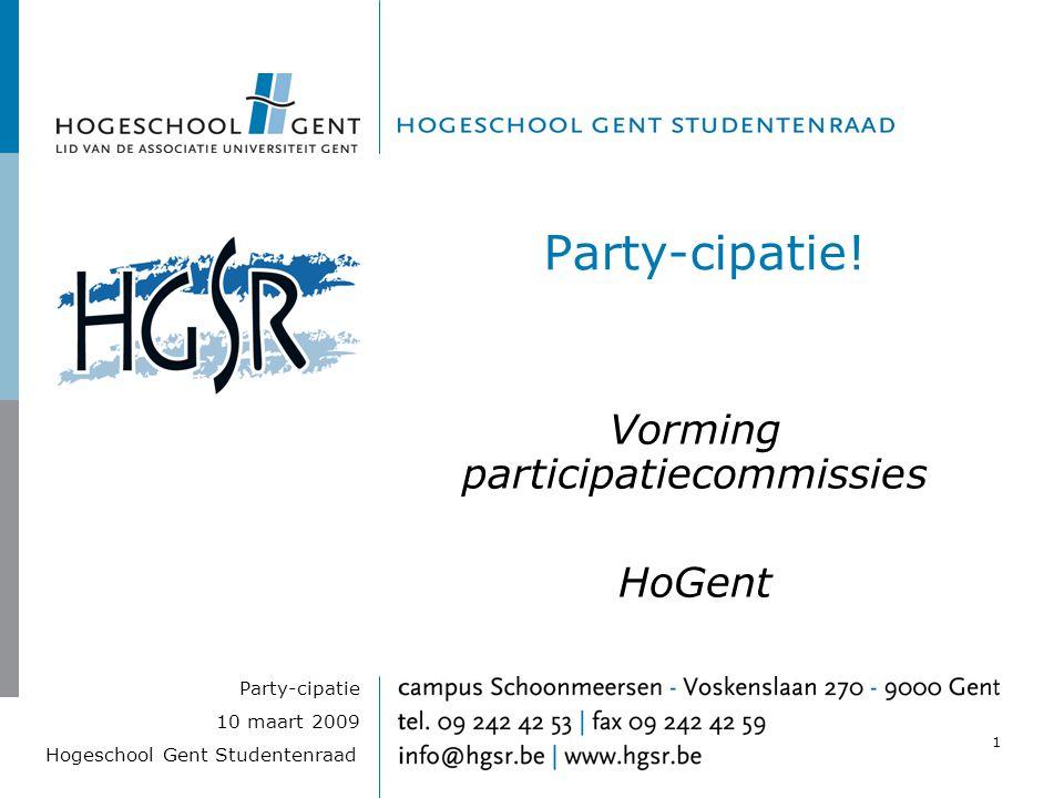 Vorming participatiecommissies HoGent