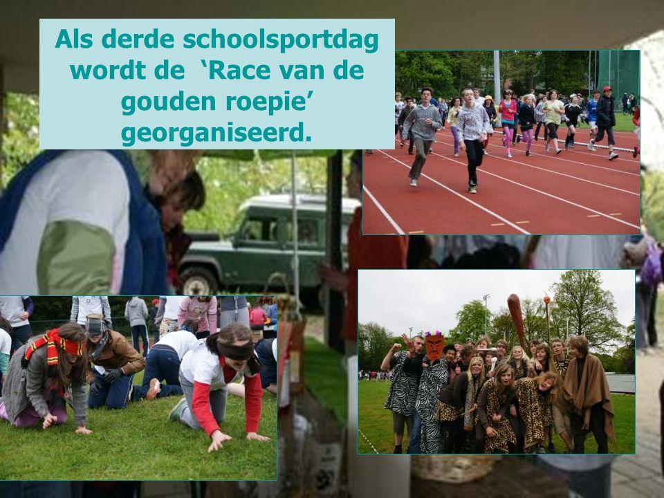 Als derde schoolsportdag wordt de 'Race van de gouden roepie' georganiseerd.