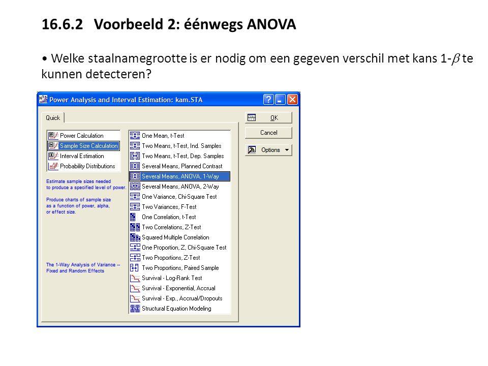 16.6.2 Voorbeeld 2: éénwegs ANOVA