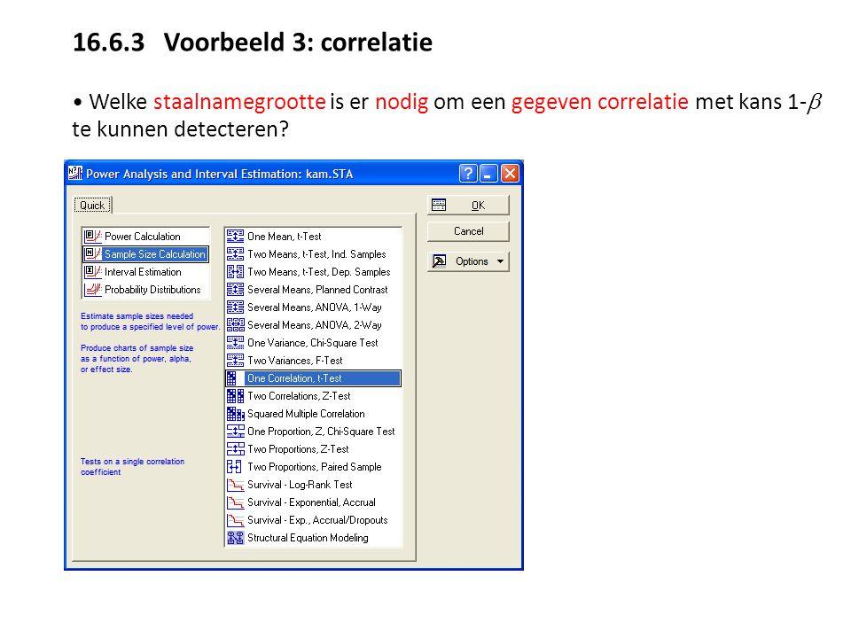 16.6.3 Voorbeeld 3: correlatie