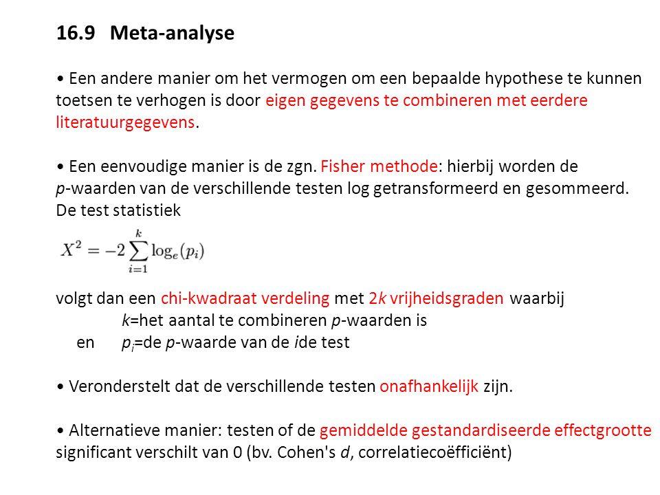 16.9 Meta-analyse