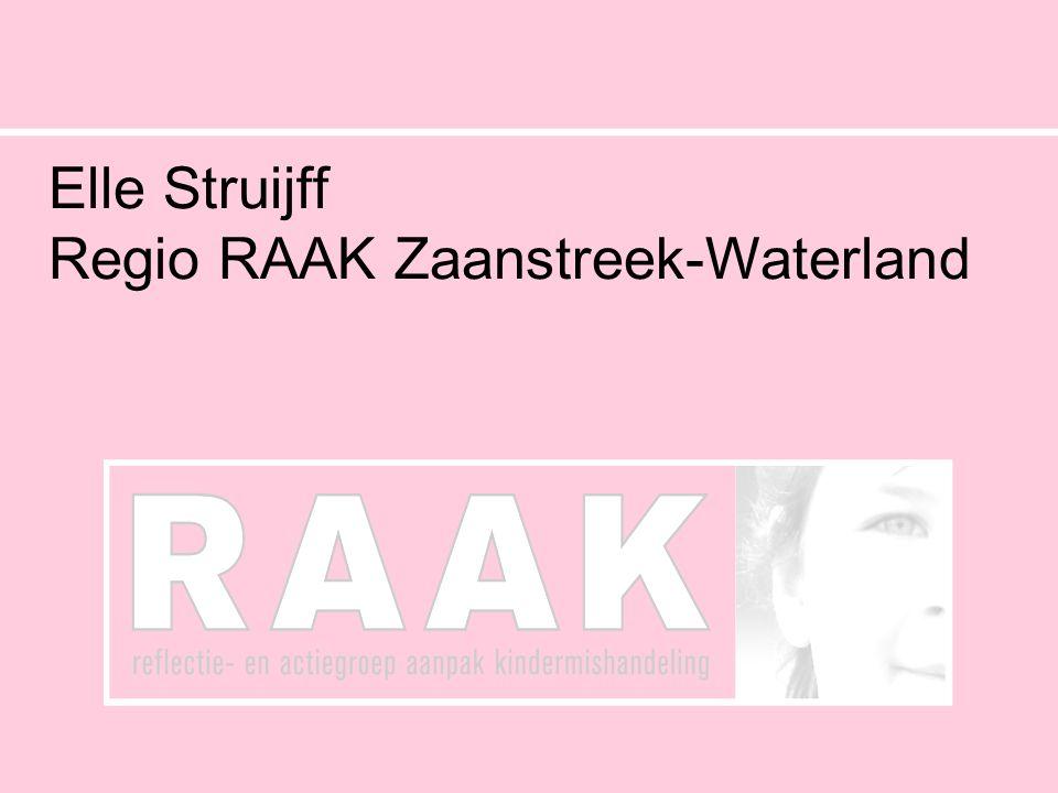 Elle Struijff Regio RAAK Zaanstreek-Waterland