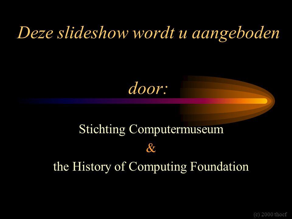 Deze slideshow wordt u aangeboden door: