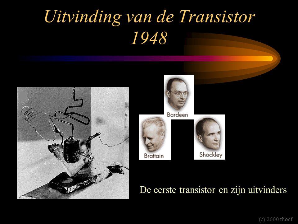Uitvinding van de Transistor 1948