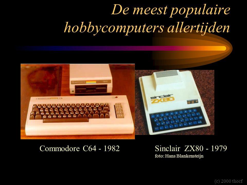 De meest populaire hobbycomputers allertijden