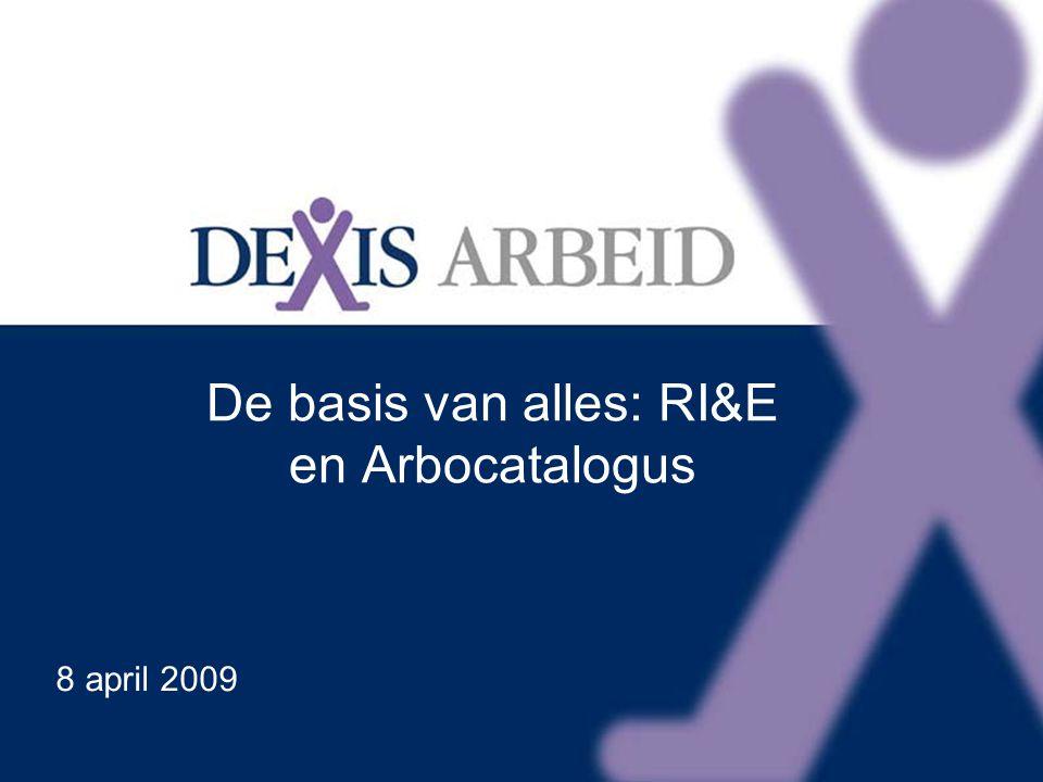 De basis van alles: RI&E en Arbocatalogus