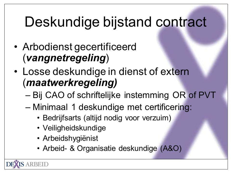 Deskundige bijstand contract
