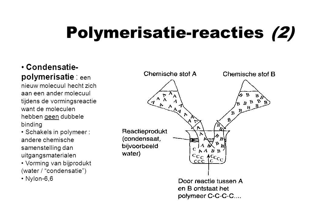 Polymerisatie-reacties (2)