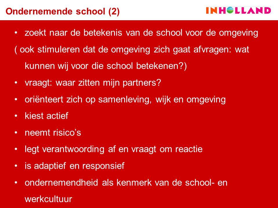 Ondernemende school (2)