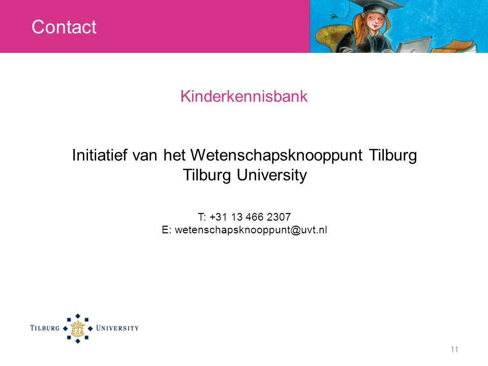 Contact Kinderkennisbank