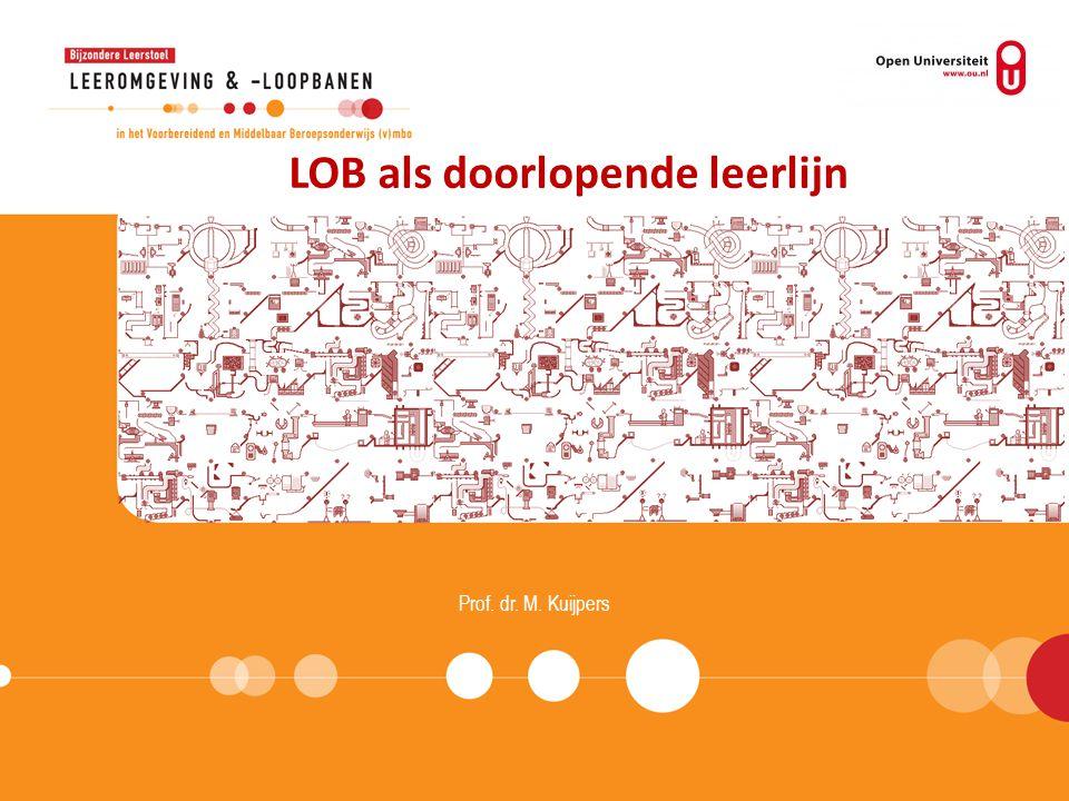 LOB als doorlopende leerlijn
