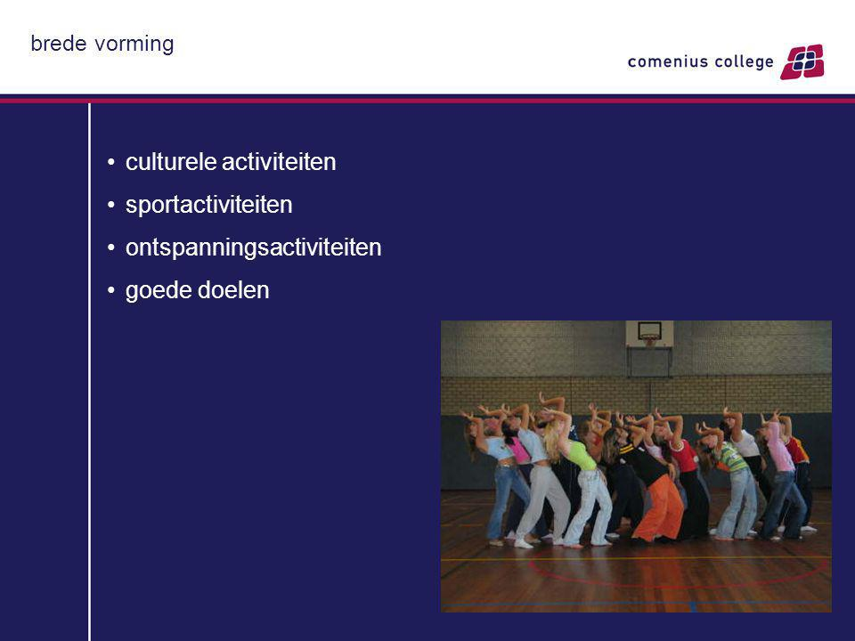 culturele activiteiten sportactiviteiten ontspanningsactiviteiten