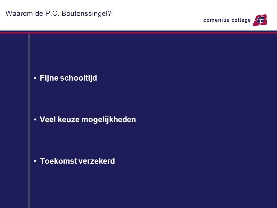Waarom de P.C. Boutenssingel