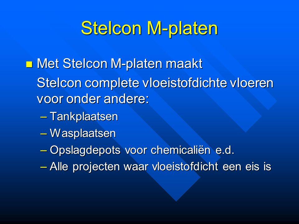 Stelcon M-platen Met Stelcon M-platen maakt