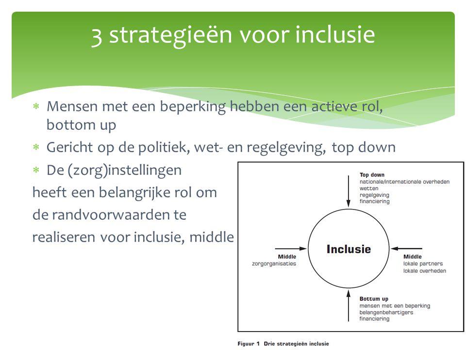 3 strategieën voor inclusie
