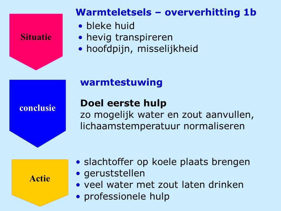 Warmteletsels – oververhitting 1b