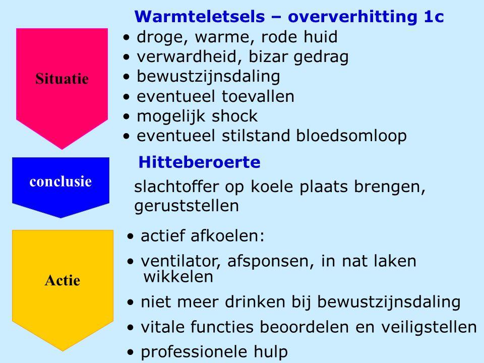Warmteletsels – oververhitting 1c