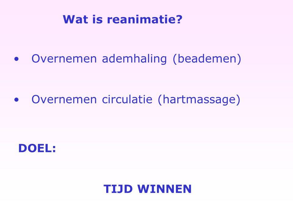 Wat is reanimatie.