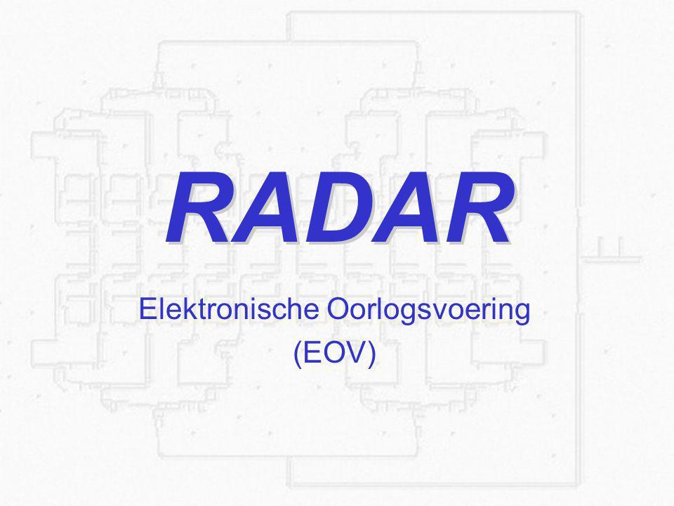 Elektronische Oorlogsvoering (EOV)