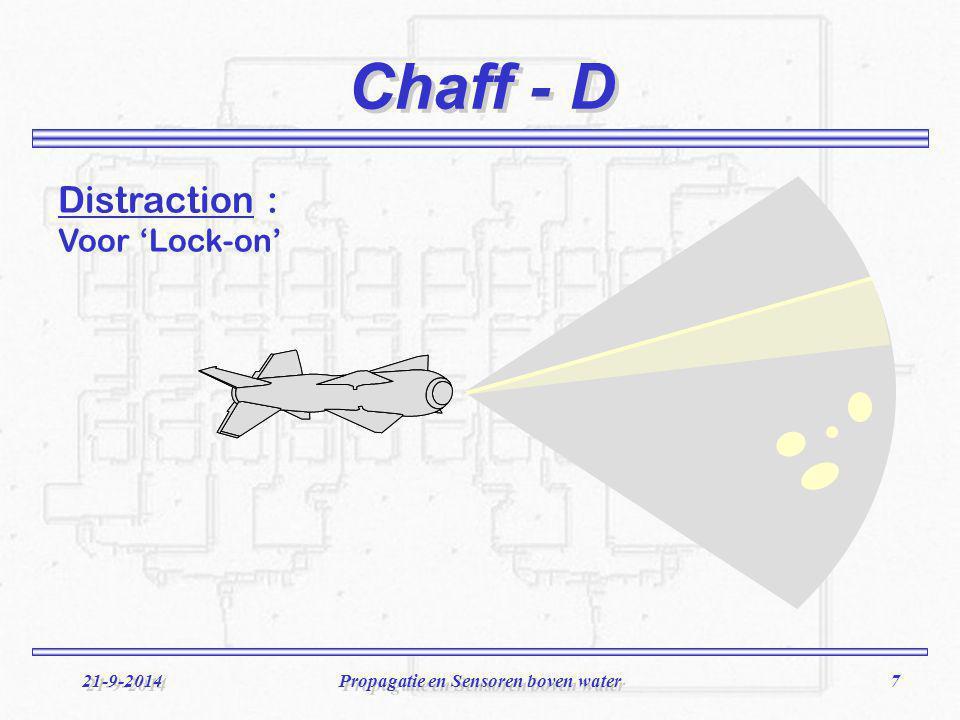 Propagatie en Sensoren boven water