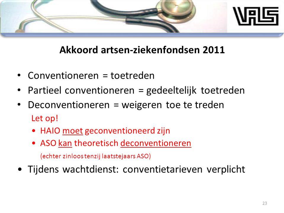 Akkoord artsen-ziekenfondsen 2011