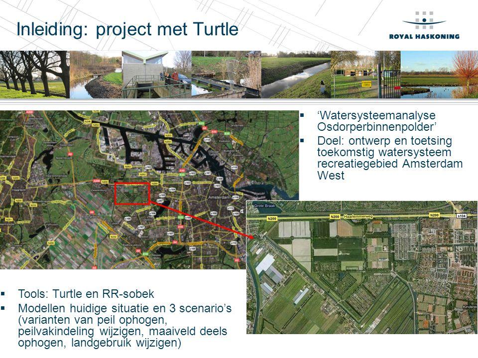Inleiding: project met Turtle